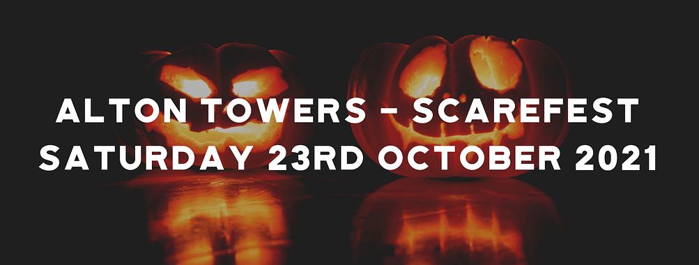 Alton Towers – Scarefest 2021
